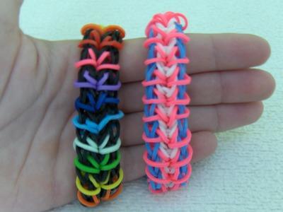 Rainbow Loom Nederlands, Zippy Chain Armband. Zippy Chain Bracelet
