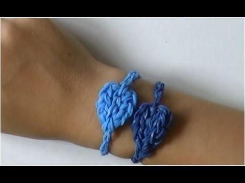 Rainbow Loom Nederlands Hart Armband