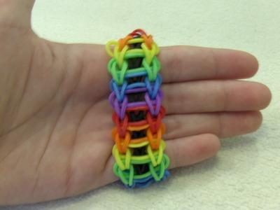 Rainbow Loom Nederlands, Ladder Armband. Ladder Bracelet