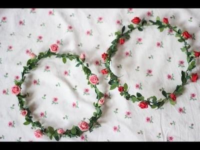 ✿ DIY: Floral Headband | afashionwayoflife.com