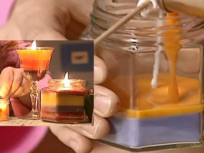 Kerzen selber machen | ToolTown Deko-Tipp