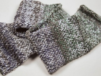 De Knutselmoeders: Een sjaal maken met breiring