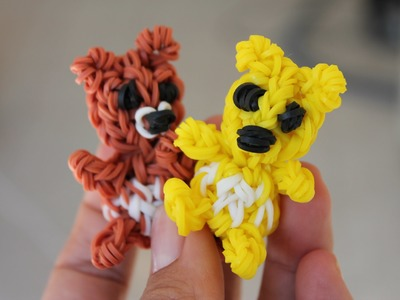 Rainbow loom Nederlands, 3D (teddy) beer