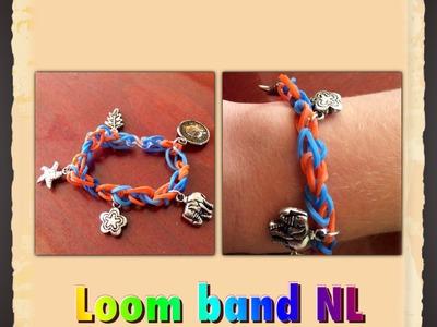 Rainbow Loom Nederlands basis armband elastiekjes met bedels