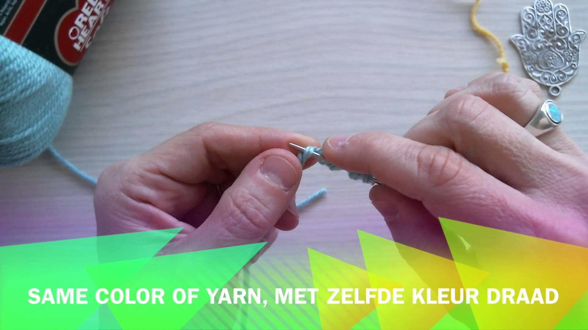 Joining yarn. Draad verbinden by Tami's Creadi