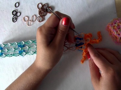Rainbow loom band it tutorial Disney prinses merida brave NL deel 2