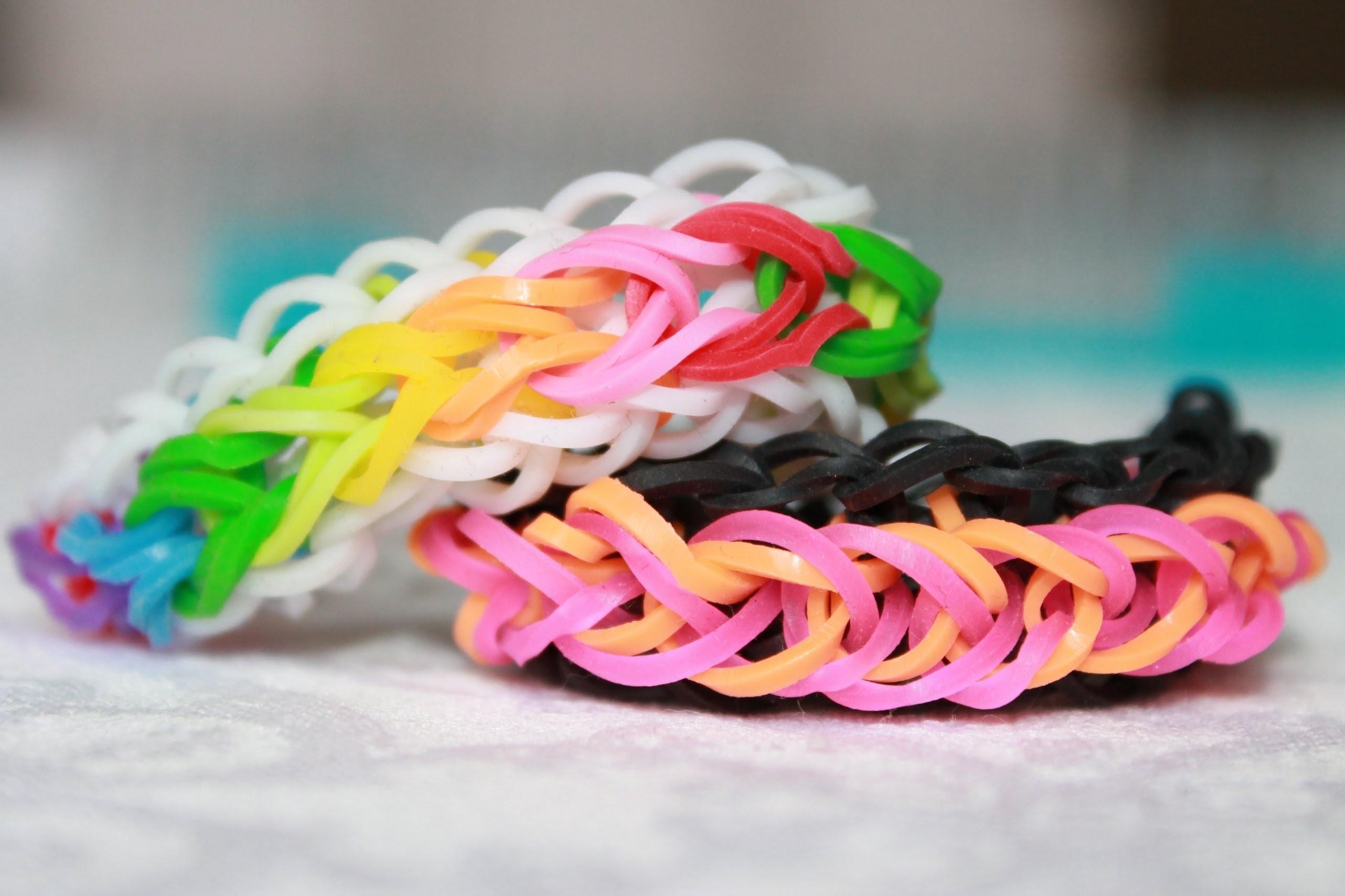 Rainbow loom Nederlands Raindrop Armband Bracelet