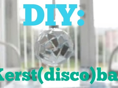DIY Decoratie: Kerst(disco)bal maken van een CD!