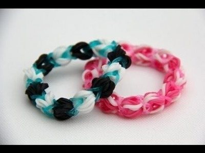 Rainbow Loom Nederlands Bubblegum Cotton Candy Strawberry Power Bracelet