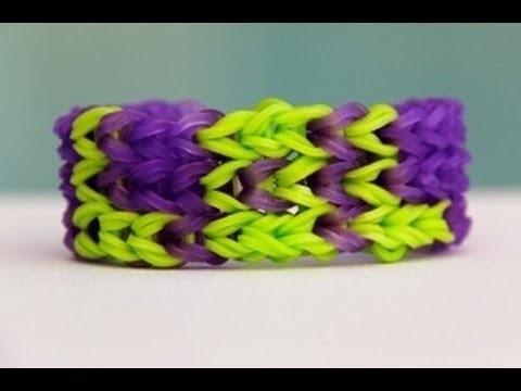 "Rainbow Loom Nederlands ""LOL"" Bracelet - Armband - Loom bands"