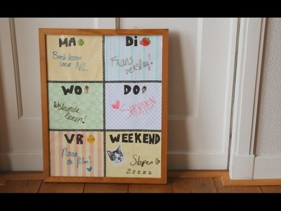 Back to school! x DIY Planboard | Teske
