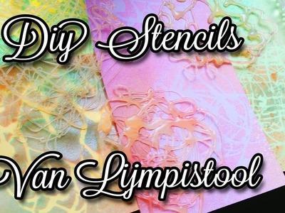 Diy Zelf Stencils Maken Met Een Lijmpistool