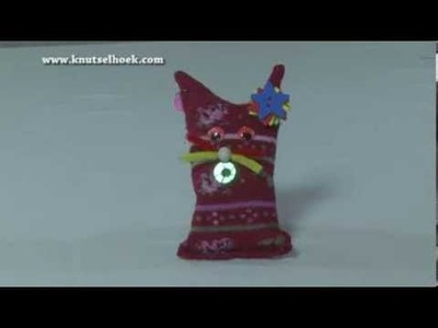 Knuffeldieren van oude (kinder)sokjes knutselen