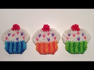 Rainbow Loom Nederlands, Cupcake Mural, easy!