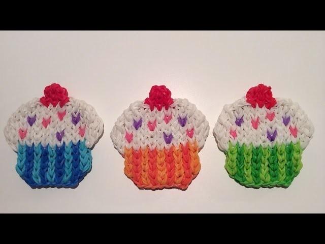 Rainbow Loom Nederlands, Cupcake Mural, easy!