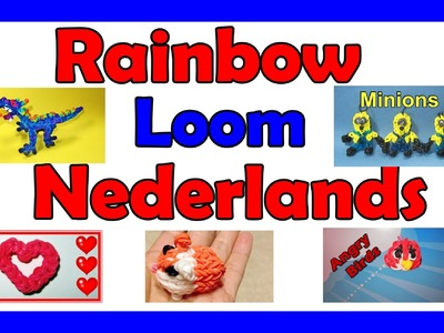 Rainbow Loom Nederlands Projecten die door DIYMommy