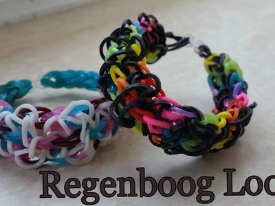 Rainbow Loom Nederlands Geboeide Armband Mooie Stijl deel 1 van 2