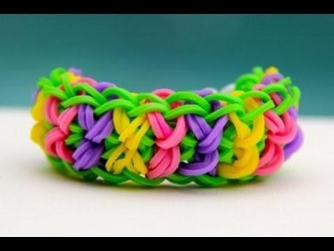 Rainbow Loom Nederlands - BowTie Bracelet  Loom bands