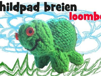 Schildpad breien op een Loombord deel 1 - de kop