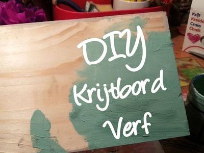 Hoe maak je zelf krijtbord verf? Zelf Annie sloan look a like maken! DIY