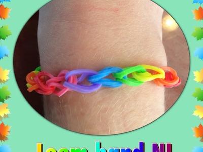 Rainbow Loom Nederlands basis armband met elastiekjes