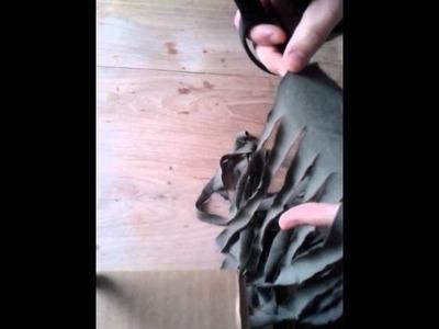Zpaghetti knippen van oude kleding