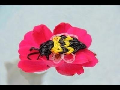 Rainbow Loom Nederlands Bijtje - Bumble bee