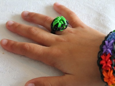 Rainbow loom Nederlands, Starburst Ring