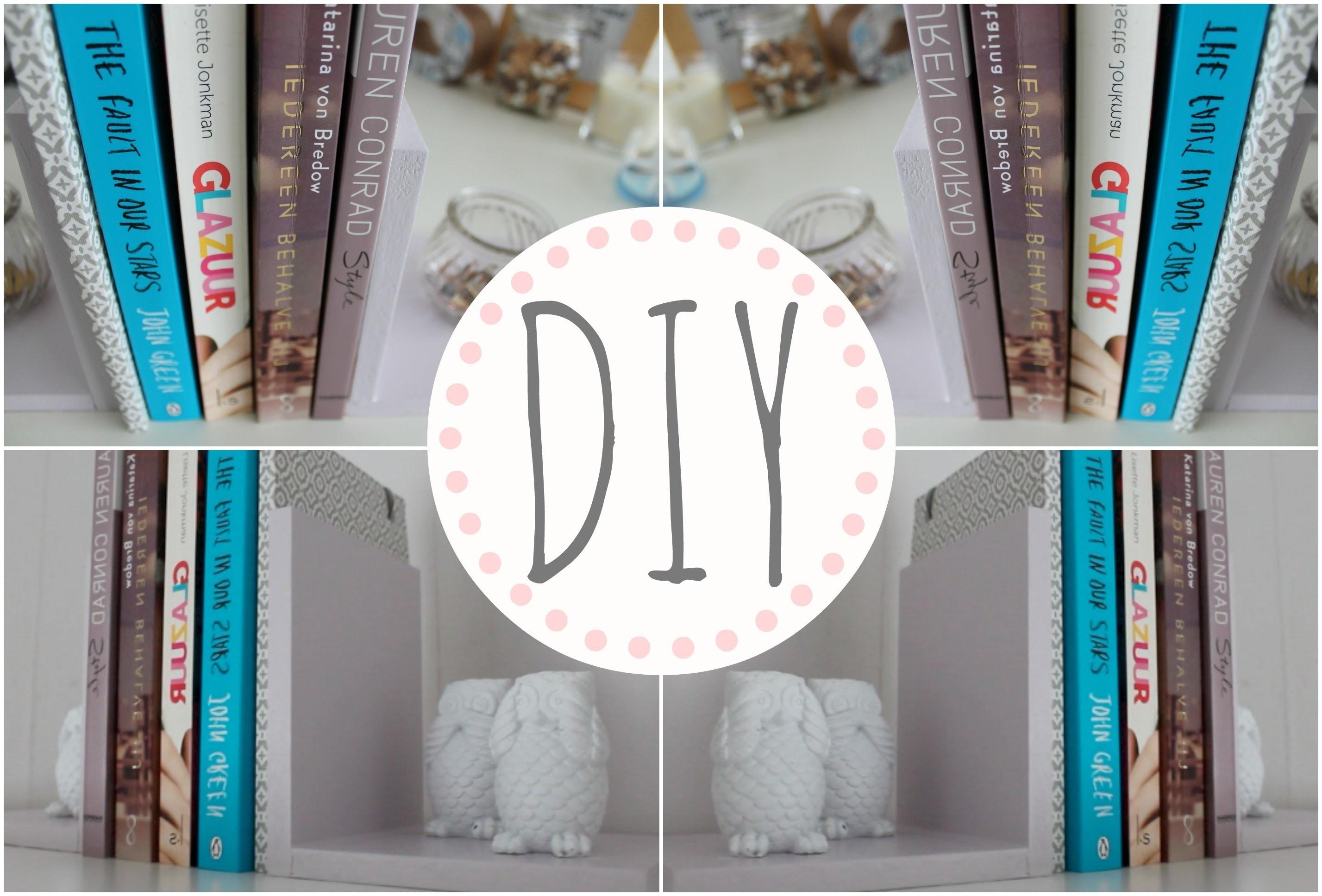 Diy leuke boekensteunen kamer decoratie for Decoratie knutselen