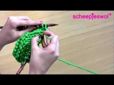 Leren Breien - Meerderen - Leer breien met Scheepjeswol