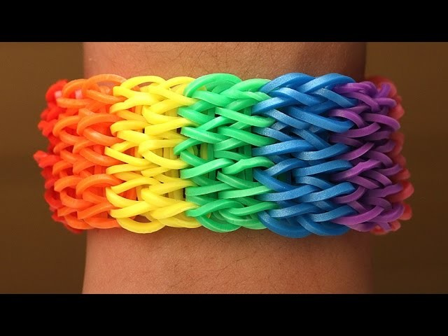Rainbow Loom Nederlands - Seven Singles || Loom bands, rainbow loom, tutorial, how to