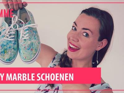 DIY Marble Schoenen - FEMME