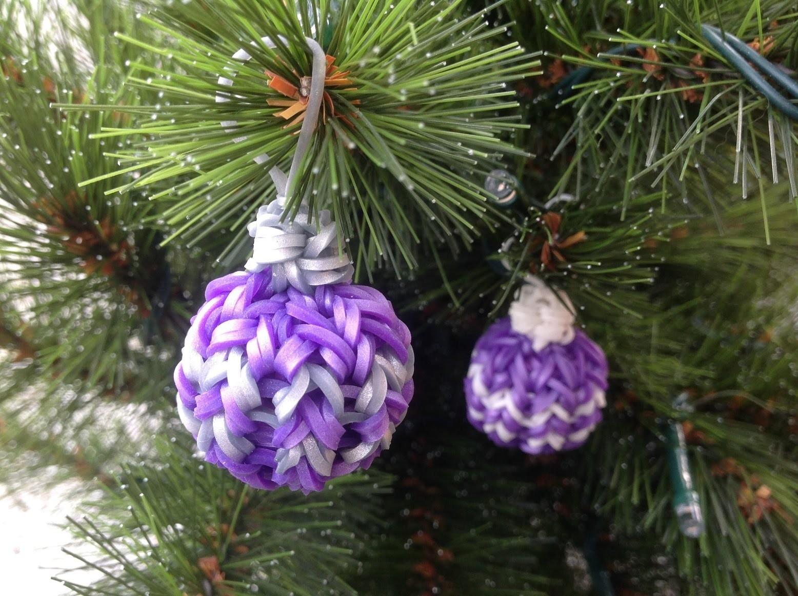 Rainbow Loom Nederlands, 3d kerstbal, Loom