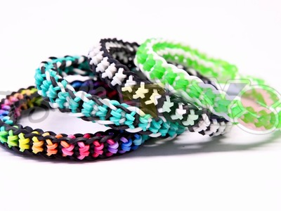 Rainbow Loom Nederlands, Boxed Bow Armband