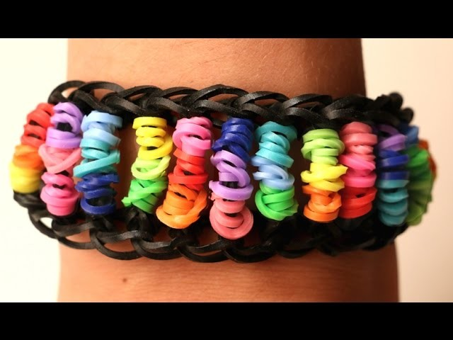 Rainbow Loom Nederlands - Candy Twist || Loom bands, rainbow loom, nederlands, tutorial, how to