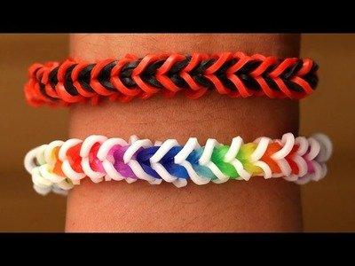 Rainbow Loom Nederlands - Spinelet Armband || Loom bands, rainbow loom, tutorial, how to