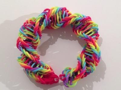 Rainbow Loom Nederlands, Helicoid, 2 pin design