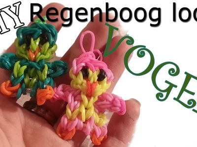 ^-^ Rainbow Loom Nederlands Schattig Vogeltje ^-^