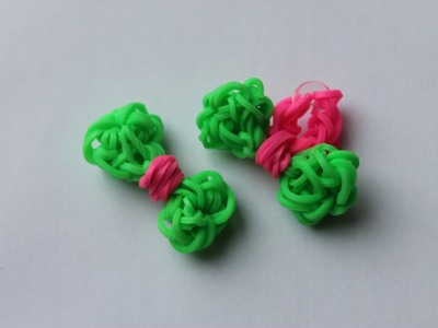 Rainbow Loom Nederlands, strikje (als ring) op Monstertail en loom