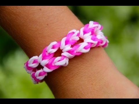 Rainbow Loom Nederlands - Waikiki Bracelet (Original Design) Loom bands