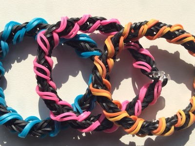 Rainbow Loom Nederlands, Spiral Wrap Fishtail armband