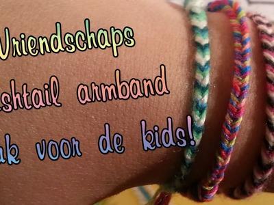 Hoe maak je een fishtail Vriendschaps armband, Leuke Diy voor kids