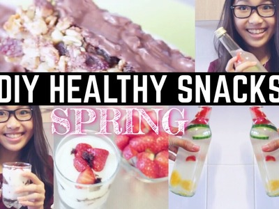 DIY YUMMY&HEALTHY SNACKS | #CinVi