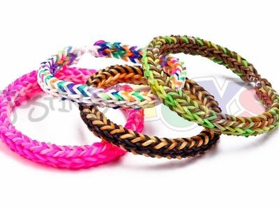 Rainbow Loom Nederlands, 3D Bracelet - Triple Dimension