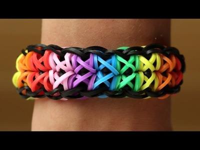 Rainbow Loom Nederlands - Totempole || Loom bands, rainbow loom, tutorial, how to
