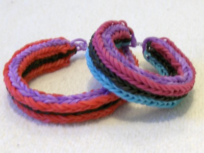 Rainbow Loom Nederlands, Hooked Triple Fishtail