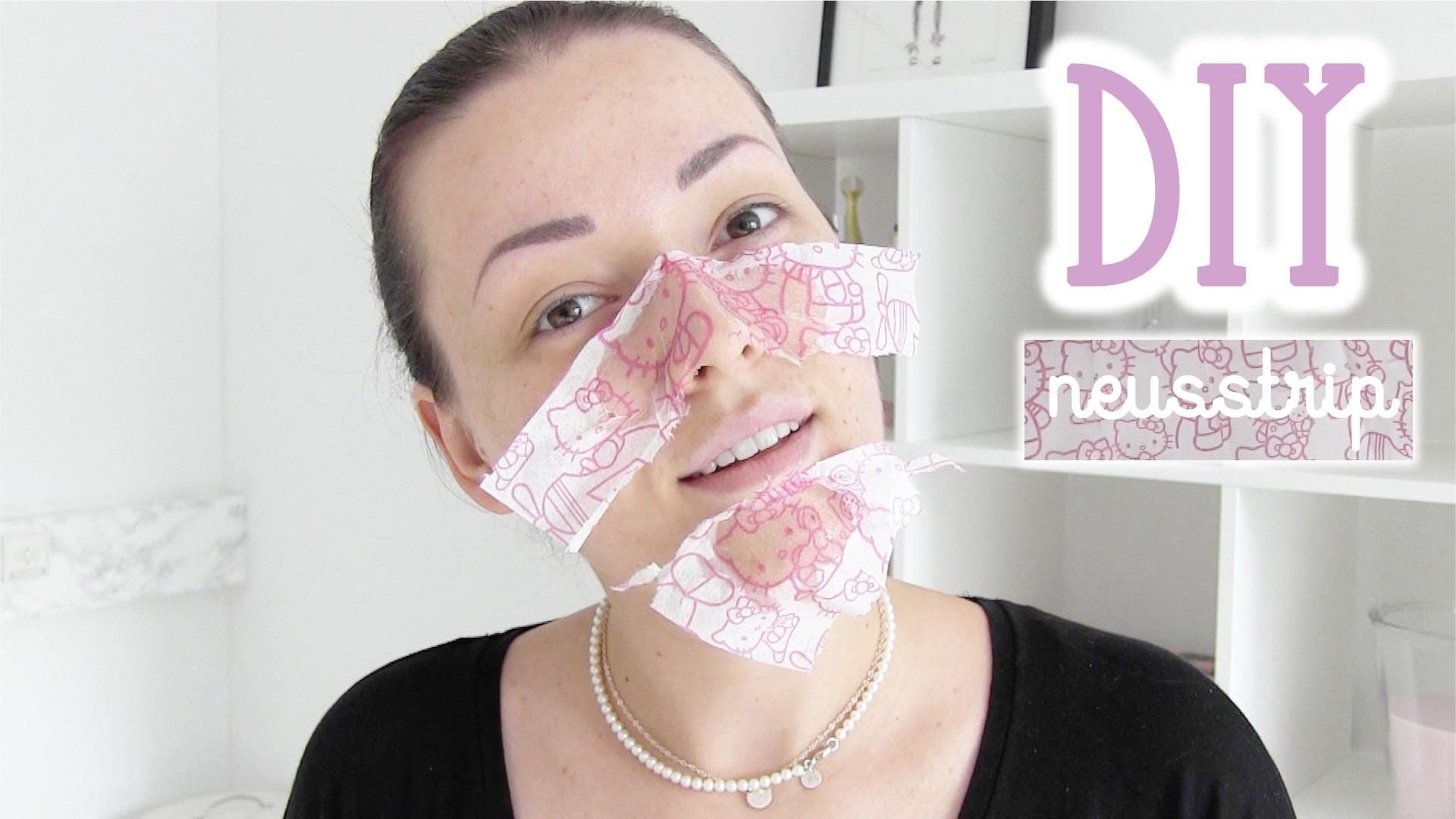 DIY tissue neusstrip ❤ 2015 | Beautygloss