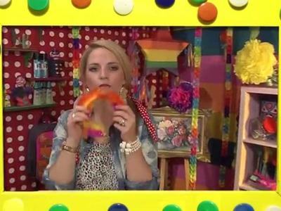 KnutselTV - promo veren haarband knutselen