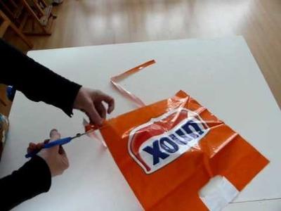 ADLJ-plastictas enkele draad maken (breien, haken etc)