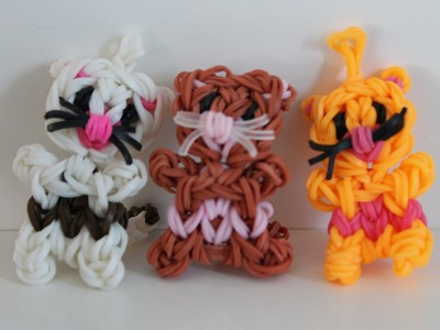 Rainbow loom Nederlands, katje